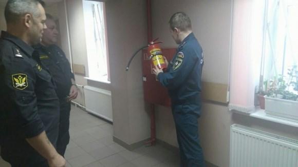 В здании Сестрорецкого суда была проведена тренировочная эвакуация