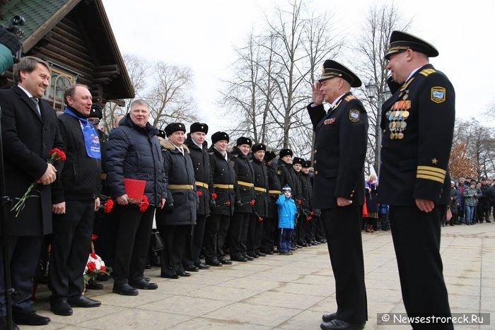 В Сестрорецке отметили День моряка-подводника 2017