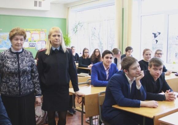 Учащихся школы №324 пригласили на службу в Росгвардию