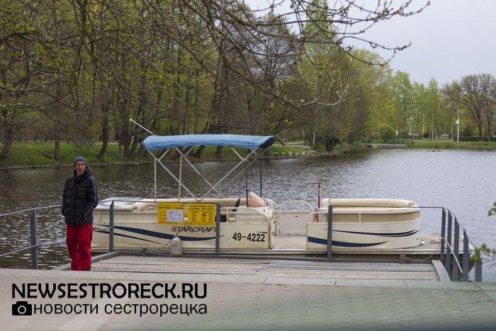 Сестрорецкий паром готов к летнему сезону 2017