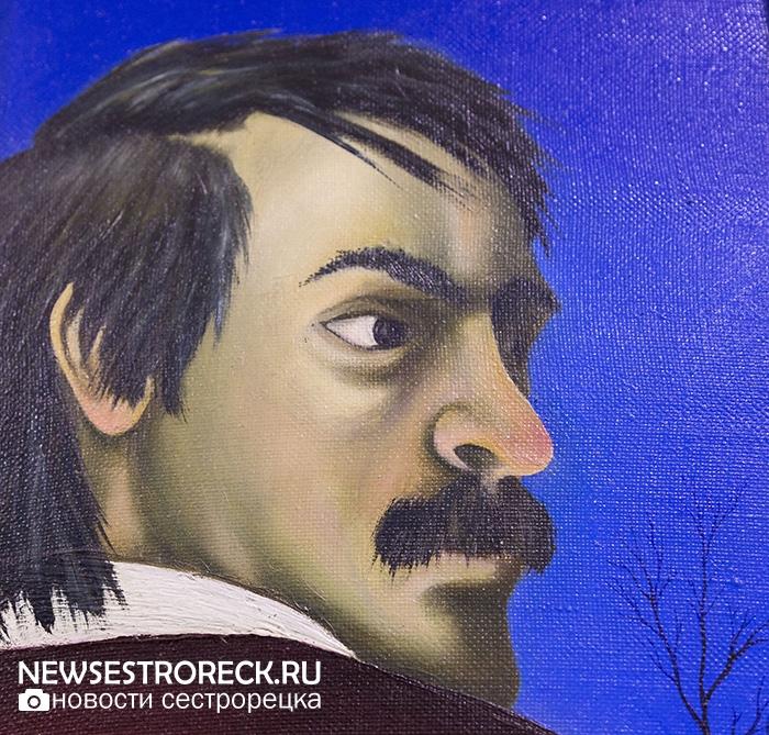 В Сестрорецке открылась выставка Юрия Гербиха «Миражи и иллюзии»