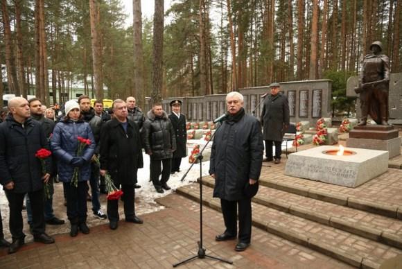 В Сестрорецке захоронили останки 21 неизвестного солдата