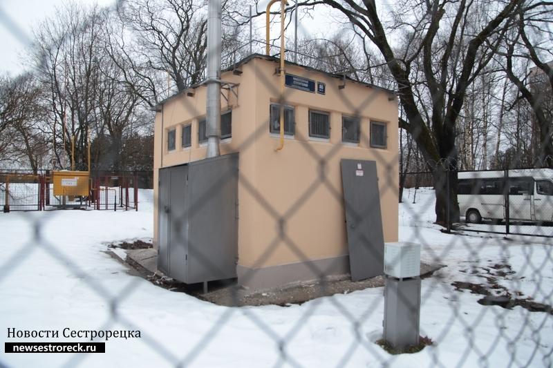 В Сестрорецке привели в порядок газовые станции и дали им адреса