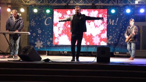 Александр Добронравов. Сестрорецк. Новый год - 2018