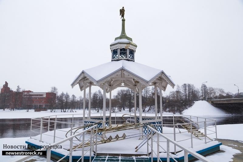 Крещение в Сестрорецке 2018