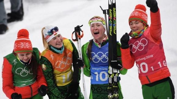 Биатлонистка из Сестрорецка завоевала золото в составе сборной Белоруссии