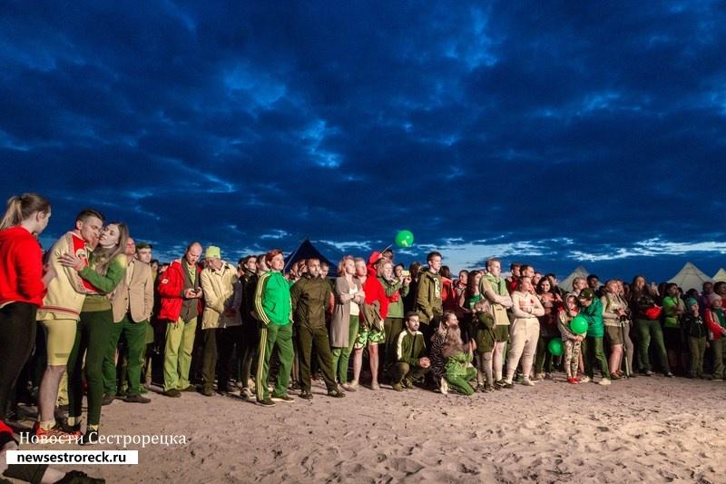 В Сестрорецке прошел ночной трейл «Белая ночь - 2018»