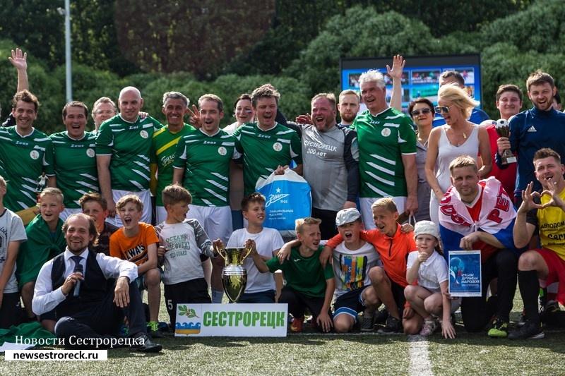 Команда «Сестрорецк» стала победителем 7-го турнира по футболу среди консульских команд