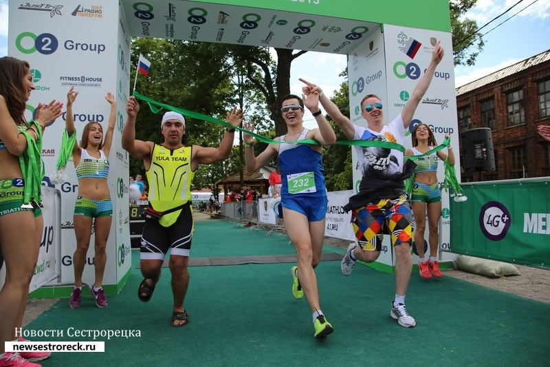 Сестрорецк приглашает на соревнования по триатлону