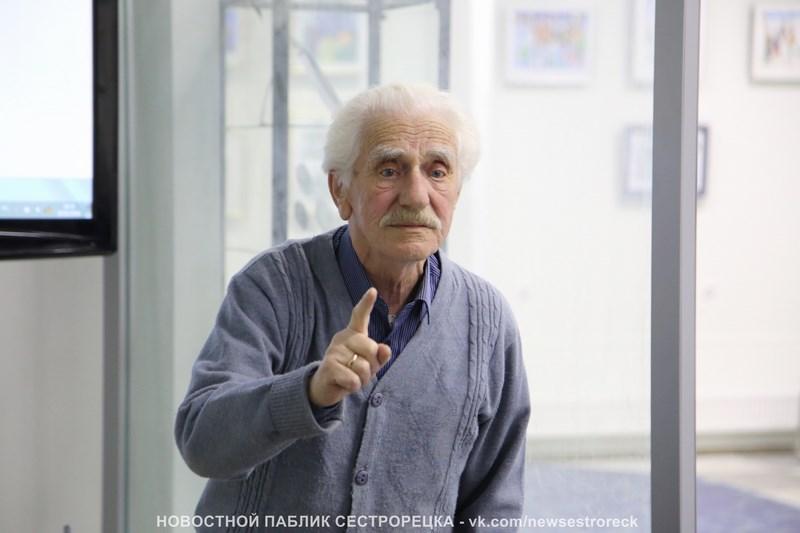 В Сестрорецке умер краевед Борис Ривкин
