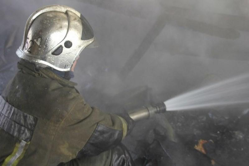 В Сестрорецке ночью сгорел садовый дом