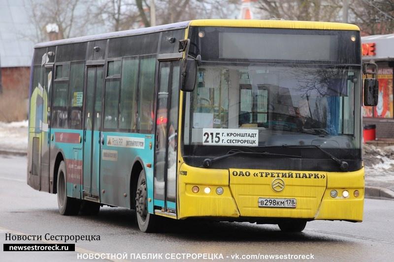 С 13 по 30 апреля изменится маршрут следования автобуса № 215